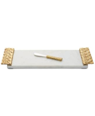 Granite 2-Pc. Palm Cheeseboard & Spreader Set