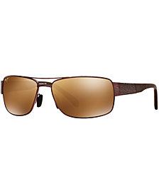 Maui Jim Polarized Sunglasses, 703 Ohia 64