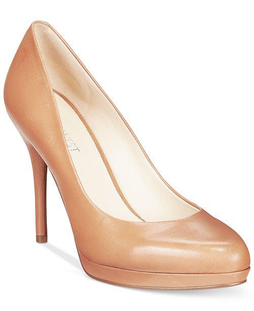 b42612e7165 Nine West Kristal Platform Pumps   Reviews - Pumps - Shoes - Macy s