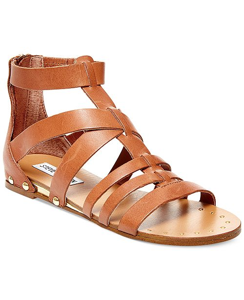 Steve Madden Drastik Flat Gladiator Sandals
