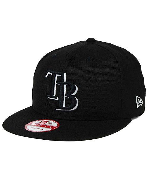 sports shoes 2aa55 979b1 ... New Era Tampa Bay Rays B-Dub 9FIFTY Snapback Cap ...