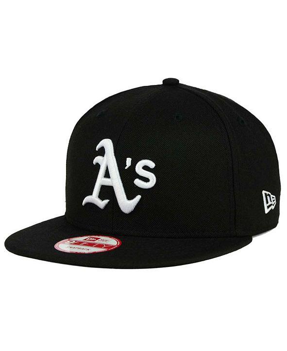 New Era Oakland Athletics B-Dub 9FIFTY Snapback Cap