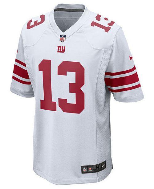 hot sale online 656e3 ee218 Nike Odell Beckham Jr. New York Giants Game Jersey, Big Boys ...