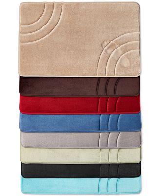 Sunham Inspire Memory Foam Bath Rug Collection Created For Macy S