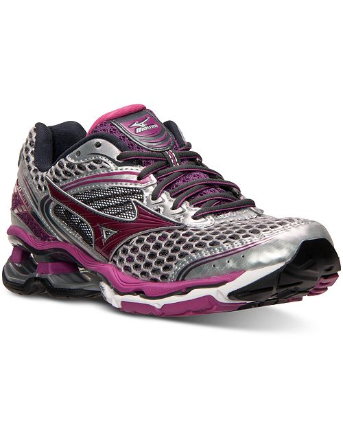 d83312e4410f Mizuno Women's Wave Creation 17 Running Sneakers from Finish Line ...