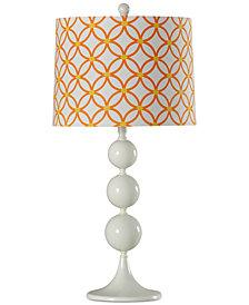 StyleCraft Contemporary Metal Table Lamp