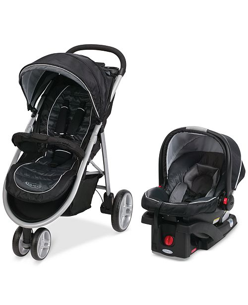 Graco Baby Click Connect Aire3 Stroller SnugRide 35 Infant Car