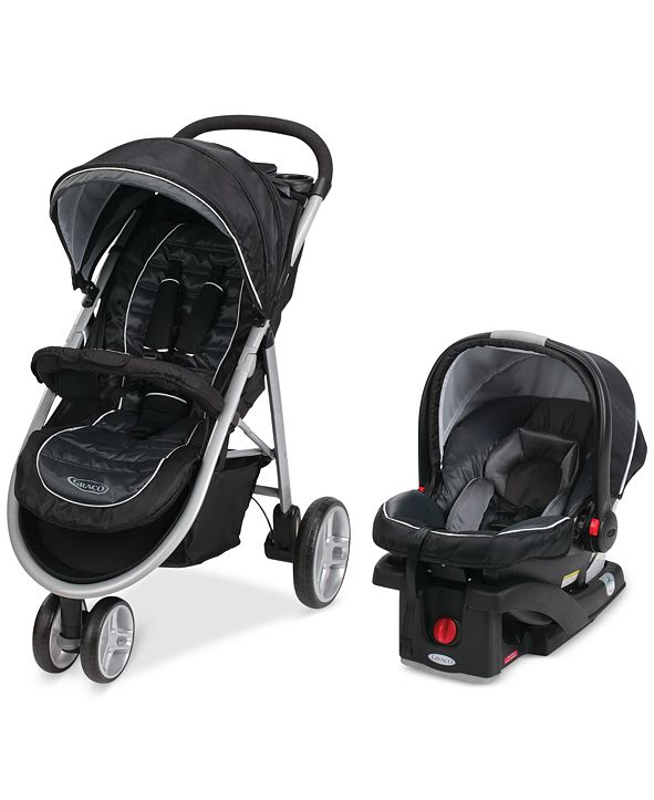 Graco Baby Click Connect Aire3 Stroller & SnugRide 35 ...