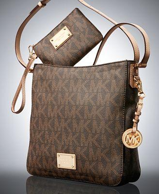 MICHAEL Michael Kors Jet Set Travel Large Messenger Bag and ...