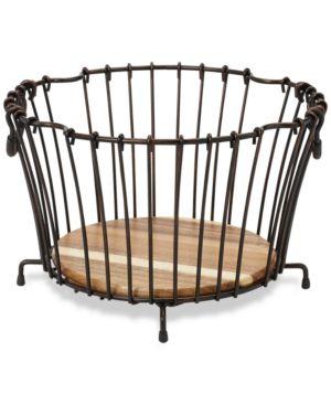 Gourmet Basics by Mikasa Wire Round Nesting Basket