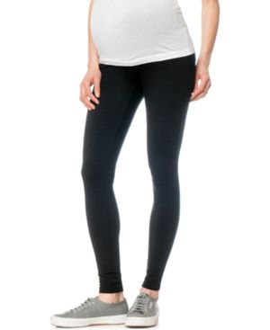 Image of A Pea in the Pod French Terry Maternity Leggings