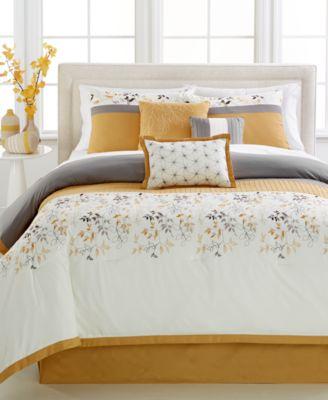York 7 Pc. Comforter Sets