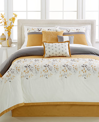 York 7 Pc California King Comforter Set Bed In A Bag