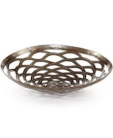 Heart of Haiti Recycled Metal Round Chrysanthemum Bowl