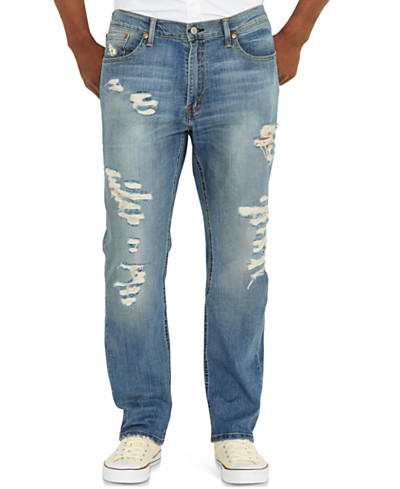 Levi's® 541™ Athletic Fit Ripped Jeans