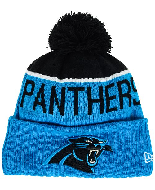 New Era Carolina Panthers Sport Knit Hat - Sports Fan Shop By Lids ... ad9fe9b1852