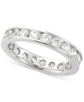 channel diamond eternity wedding product bands set courtier band