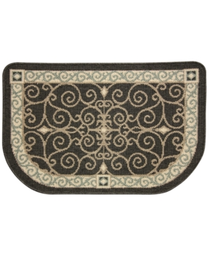 Bacova Kitchen Reliance Eastly Midnight 22x35 Rug Bedding