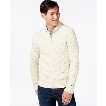 Tommy Hilfiger Andy Shawl-Collar Mens Sweater