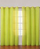 Victoria Classics Abbey Sequins Grommet 55'' x 84'' Curtain Panel