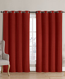 Victoria Classics Neil Blackout Grommet 52'' x 90'' Curtain Panel