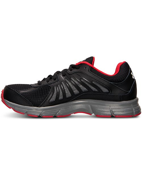 quite nice a5d64 facde Under Armour Men's Dash RN Grit Running Sneakers from Finish ...
