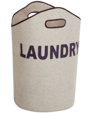 Honey-Can-Do Gray Laundry Tote