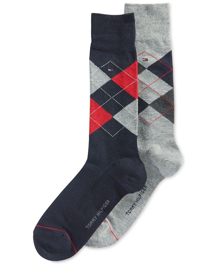 Tommy Hilfiger - Argyle Dress Socks, 2 Pack