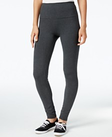 Style & Co Petite Tummy-Control Active Leggings, Created for Macy's