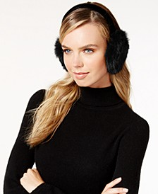 Velvet Band Rabbit Fur Earmuffs