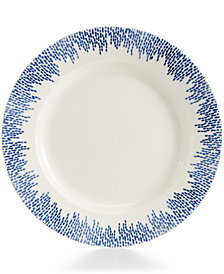 Martha Stewart Collection Porcelain Stockholm Dinner Plate, Created for Macy's