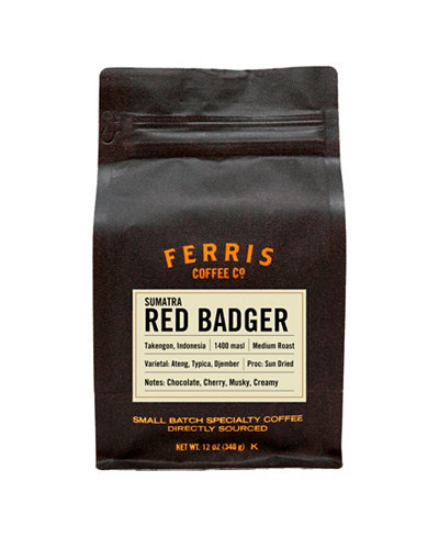 Ferris Sumatra Medium Roast Whole Bean Coffee