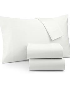 Queen 4-Pc Sheet Set, 1500 Thread Count 100% Cotton