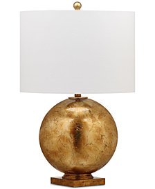 Decorator's Lighting Leaf Glass Ball Table Lamp