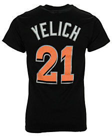 Majestic Men's Christian Yelich Miami Marlins Player T-Shirt
