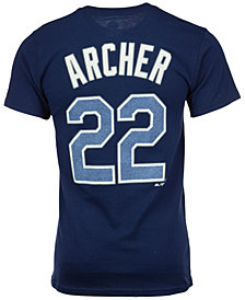 Majestic Men's Chris Archer Tampa Bay Rays Player T-Shirt