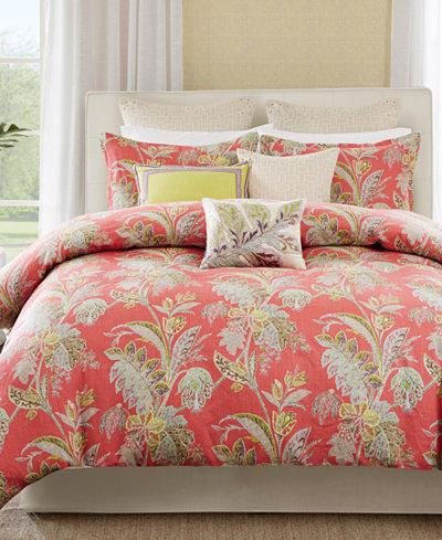 echo ishana queen comforter set bedding collections bed bath macy 39 s. Black Bedroom Furniture Sets. Home Design Ideas