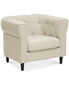 CLOSEOUT! Ashboro Accent Chair, Quick Ship