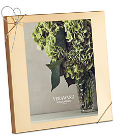 "Vera Wang Wedgwood Love Knots Gold 8x10"" Frame"