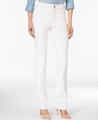 Charter Club Lexington Colored Wash Straight-Leg Jeans, Only at ...