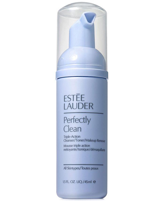 Estée Lauder - Perfectly Clean Triple-Action Cleanser/Toner/Makeup Remover, 1.5 oz