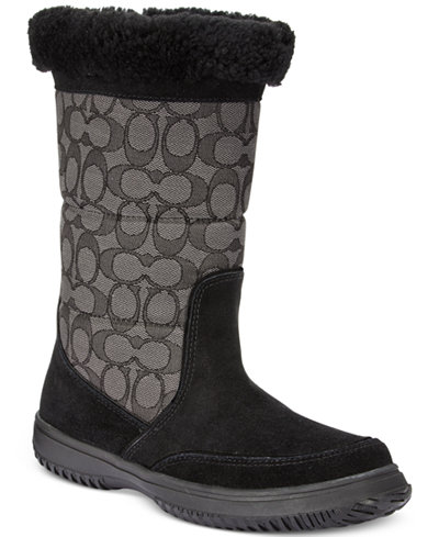 COACH Sherman Signature Cold Weather Boots