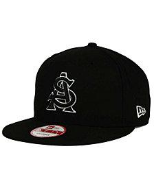 New Era Arizona State Sun Devils Black White 9FIFTY Snapback Cap