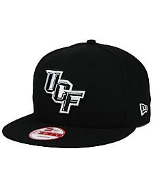 New Era UCF Knights Black White 9FIFTY Snapback Cap