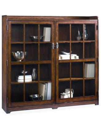 Elegant Sedona Double Door Bookcase. Furniture