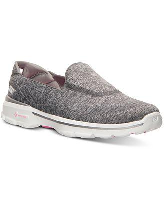 Skechers Womens GOwalk 3 Reboot Wide Width Walking Sneakers from Finish Line