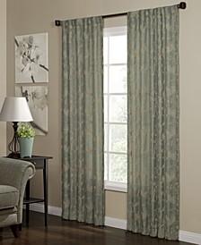 "Camilla 40"" x 95"" Woven Curtain Panel"