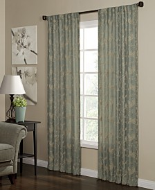 "Miller Curtains Camilla 40"" x 95"" Woven Curtain Panel"