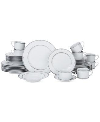 Mikasa Porcelain 40-Pc. Regent Bead Dinnerware Set Service for 8  sc 1 st  Macyu0027s & Mikasa Porcelain 40-Pc. Regent Bead Dinnerware Set Service for 8 ...