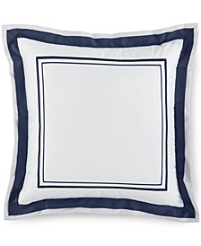 "Embroidered Frame 16"" Square Decorative Pillow, Created for Macy's"